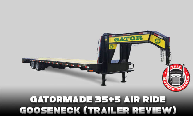 Gatormade 35+5 Air Ride Gooseneck (Trailer Review)