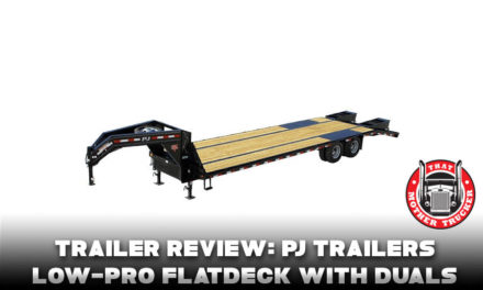 Trailer Review: PJ Trailers Low-Pro Flatdeck With Duals